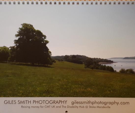 2019 Wall Calendar, Giles Smith Photography