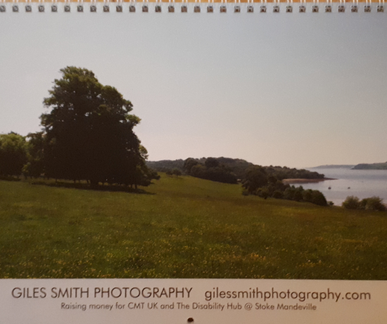 2019 Wall Calendar, Giles Smith Photography